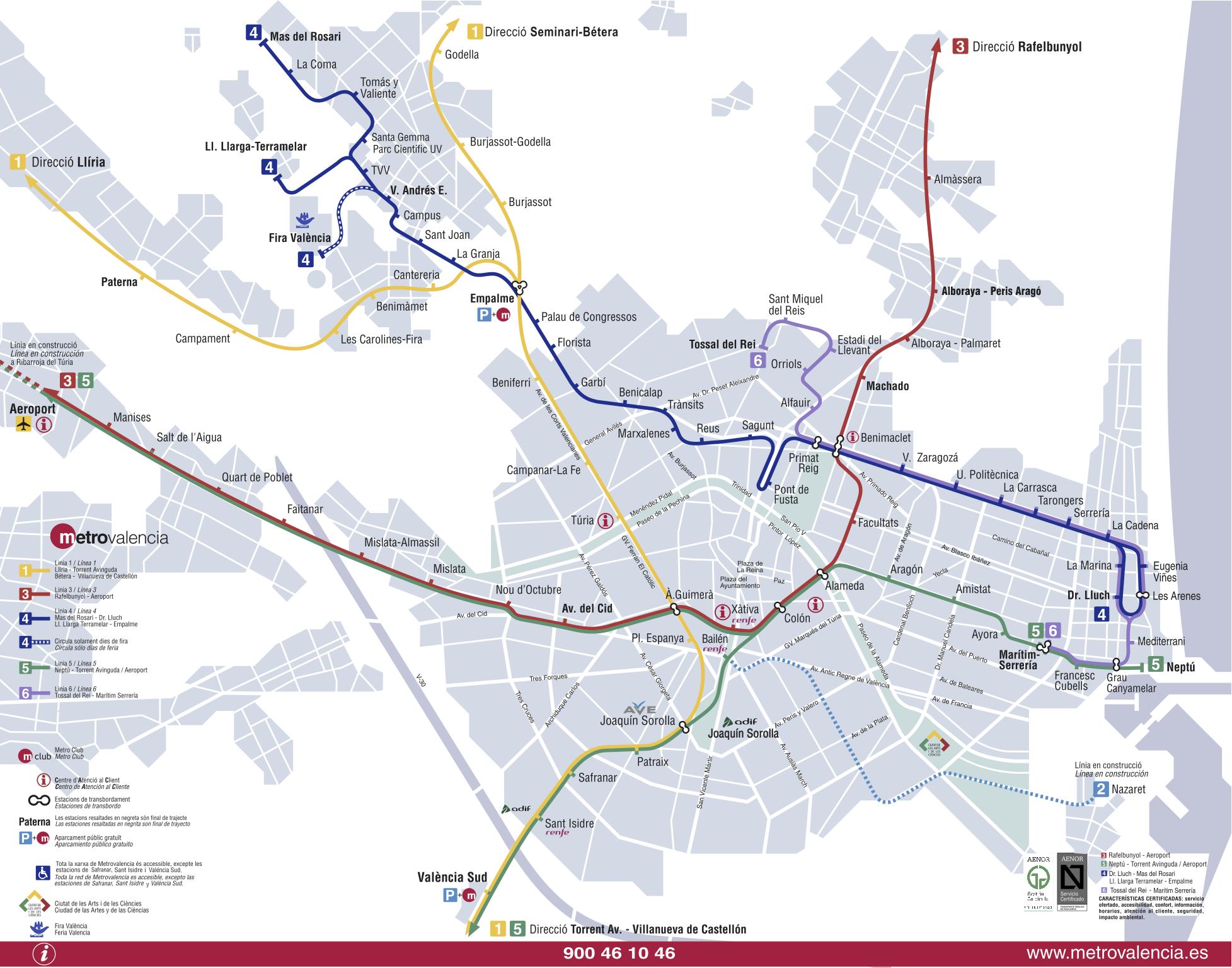 Открыто метро было 18 ноября 2006 года.  Коммерческая эксплуатация метрополитена началась на один го позже.