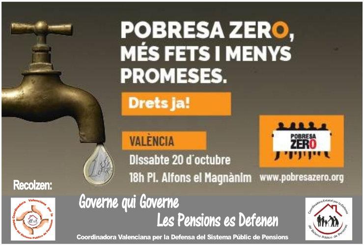 20 octubre 19h Pl.Alfonso el Magnànim (Parterre)