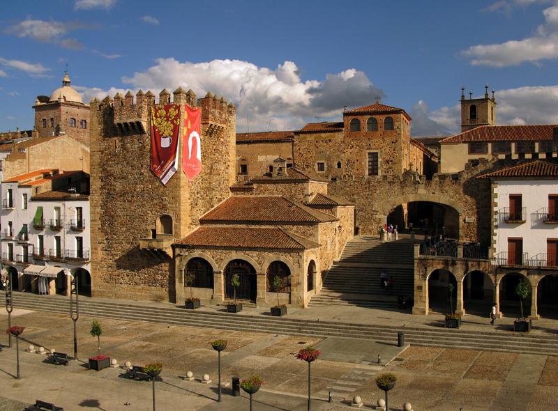 Palacio de los Condes de Adanero en Cáceres