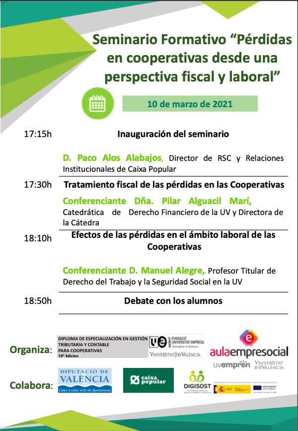 XI edición del Diploma de Especialización en Gestión Tributaria y Contable para Cooperativas - imatge 0