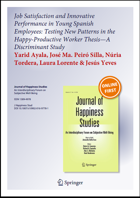 the happy productive worker thesis revisited The happy/productive worker thesis revisited 2007 an affective events approach to job satisfaction 2006 workplace emotion: where we've been, where we're going, and where we ought to be 2005.