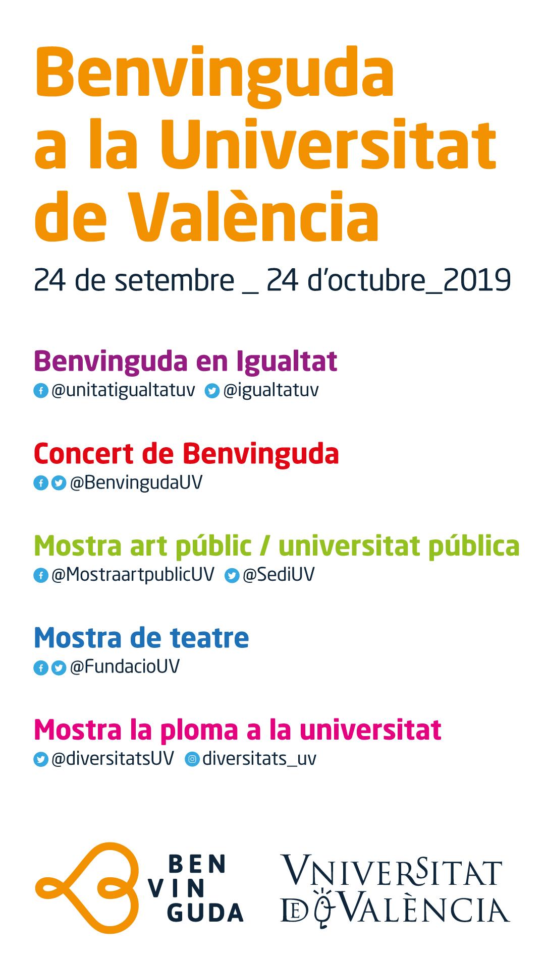 Benvinguda a la Universitat de València