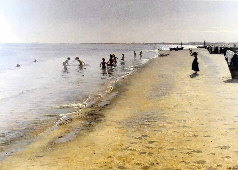 Resultado de imagen para P.S. Krøyer pinturas