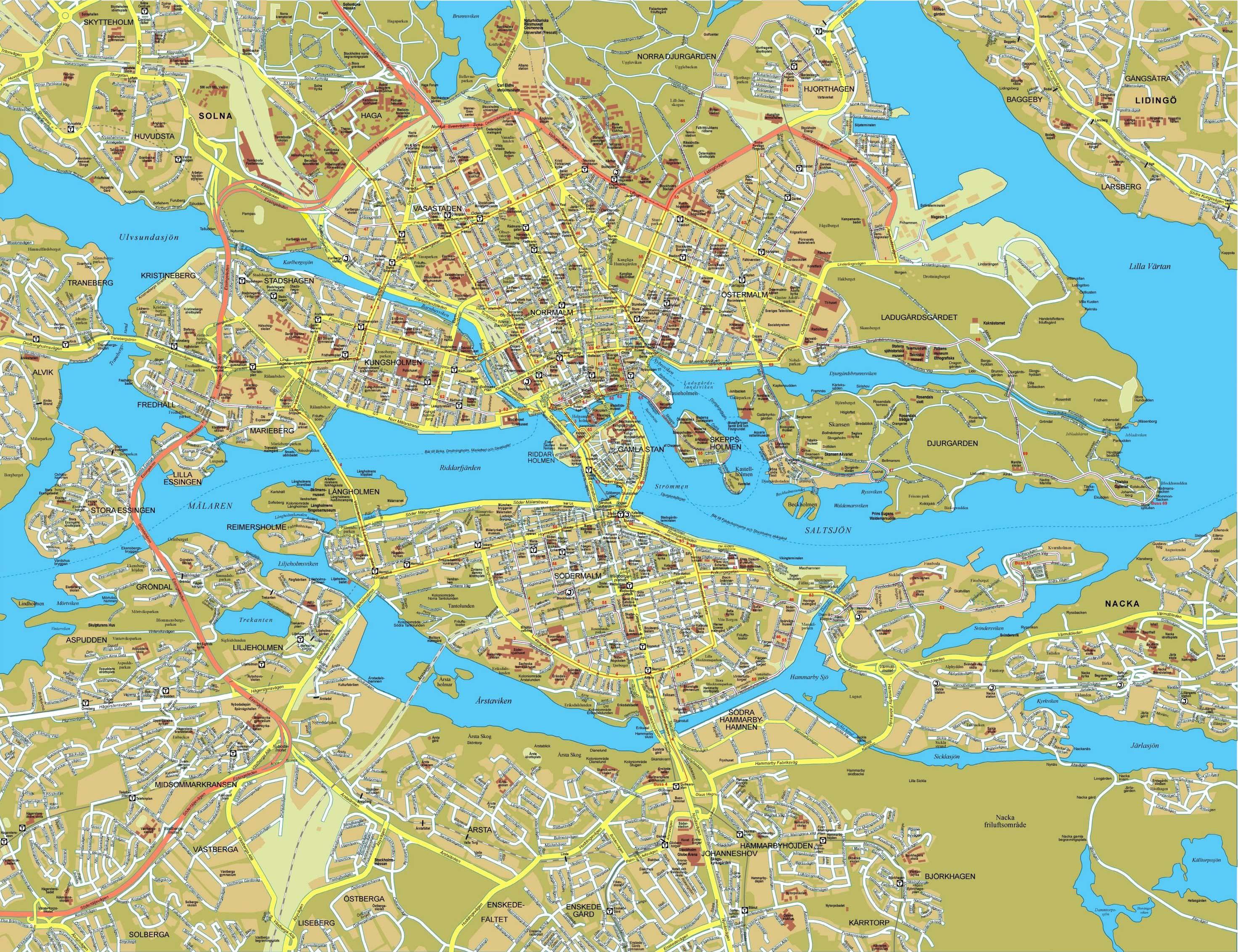 enlaces a pginas sobre suecia