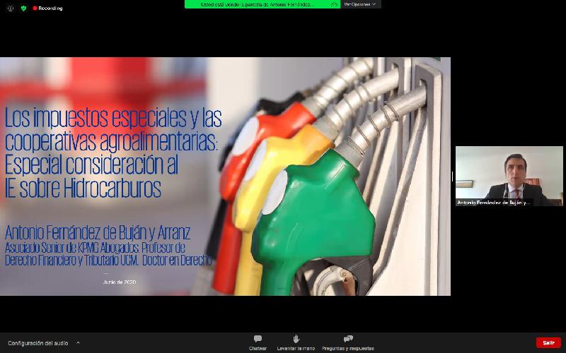 Seminario Web: Los Impuestos Especiales y las Cooperativas Agroalimentarias - imatge 0
