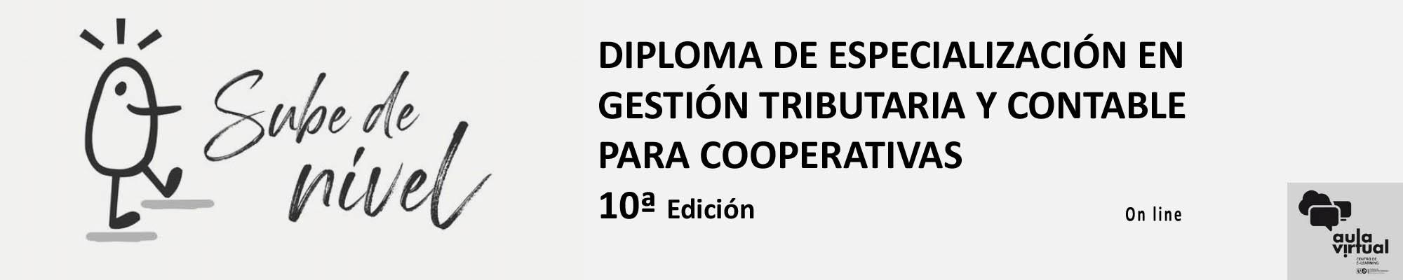 Diploma de Especialización Gestión Tributaria y Contable para Cooperativas.