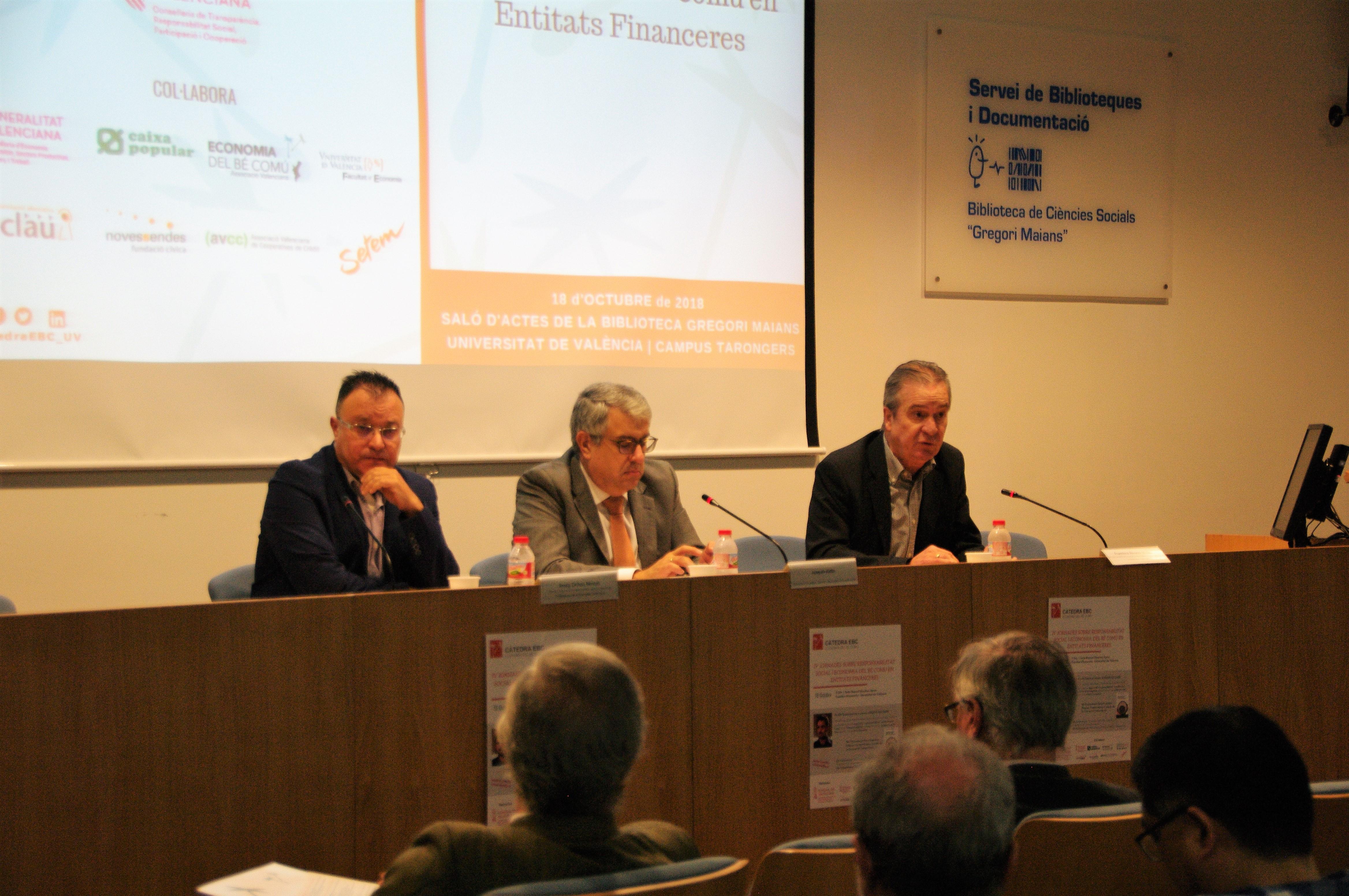 IV Jornades RSE i EBC en entitats financeres 18/10/2018 - imatge 0