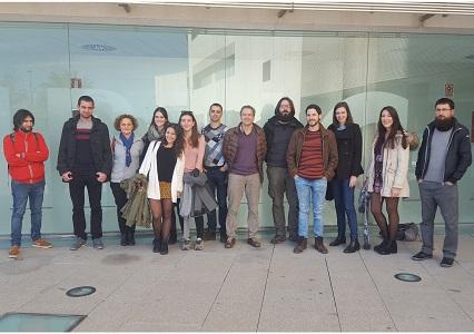 La imatge mostra el grup d'investigació en Epidemiologia Molecular de FISABIO i la Universitat de València