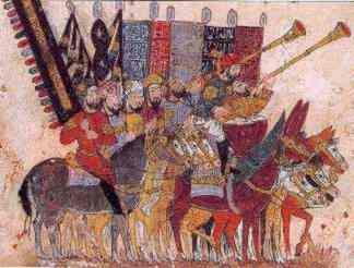 Bataille de Guadalete contre le Roi Rodrigue, le 19 juillet 711