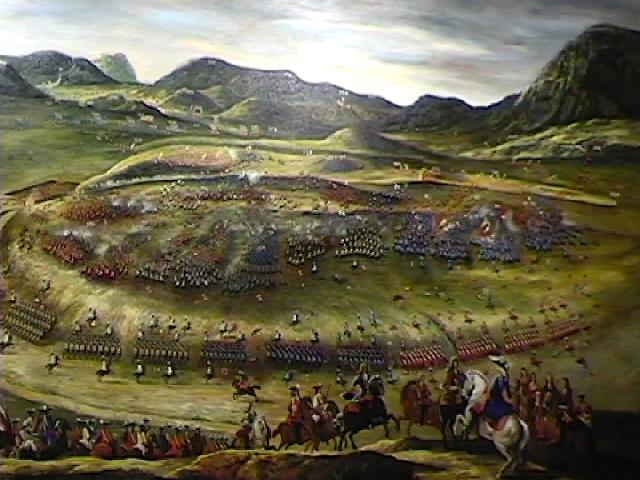 La batalla de almansa 1707 hacia la unificaci n nacional mundo historia - Plano de almansa ...