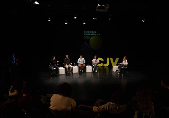 Debat per les eleccions estudiantils de la Universitat de València 2019 - imatge 0