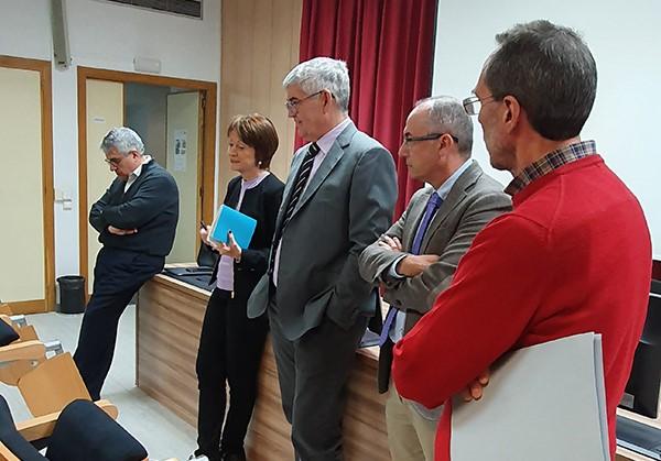 El Consell de Direcció de la UV visita la Facultat d'Infermeria i Podologia - imatge 0