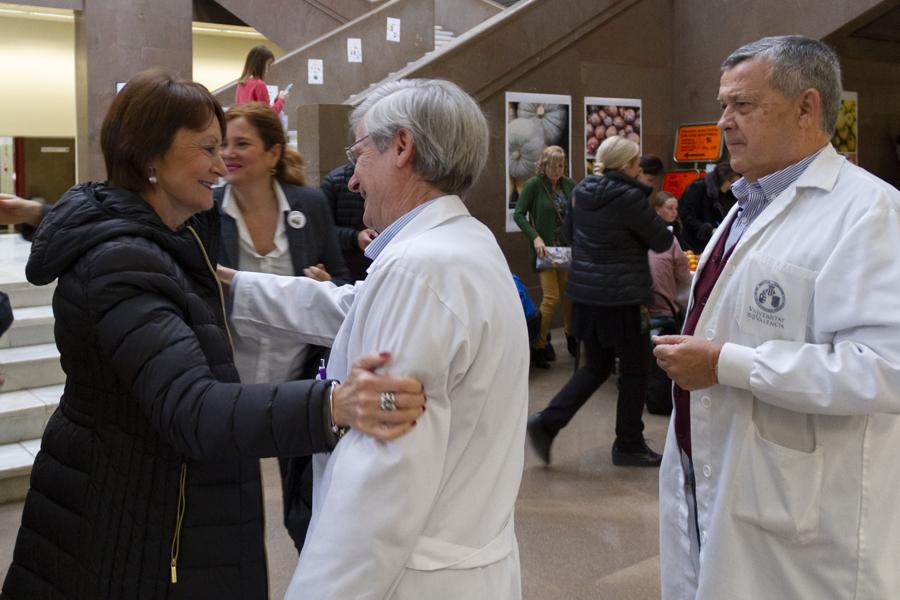 La Universitat de València celebra el Dia de la Xarxa Valenciana d'Universitats Públiques Saludable - imatge 0