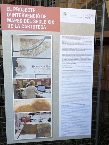 Exposició i seminari 'Recuperant el patrimoni de la Universitat: mapes i plànols del segle XIX' - imatge 0