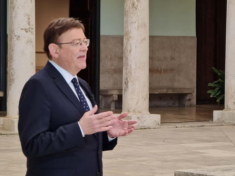 El President de la GVA tria la Universitat com a escenari del seu discurs de cap d'any