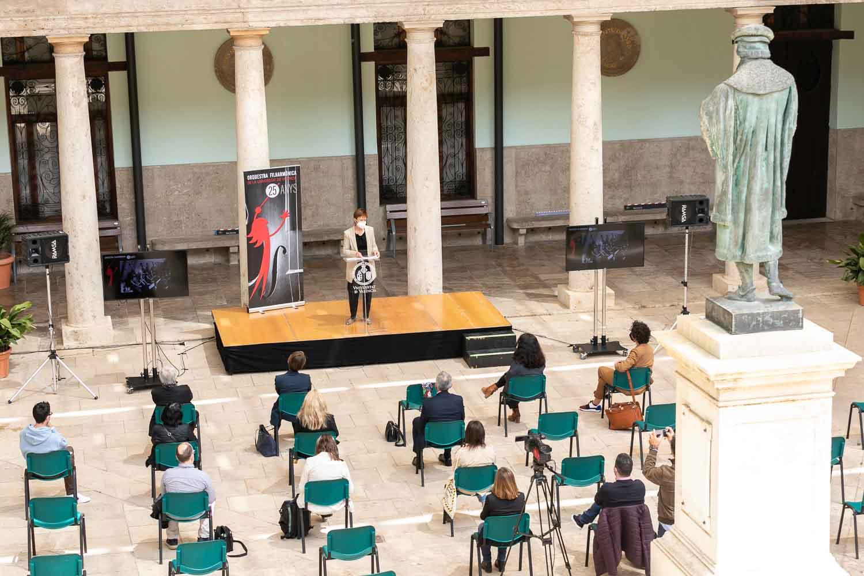Presentació de la programació del 25 aniversari de l'Orquestra Filharmònica de la Universitat de València - imatge 0