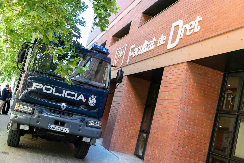 Exposición Policía Científica
