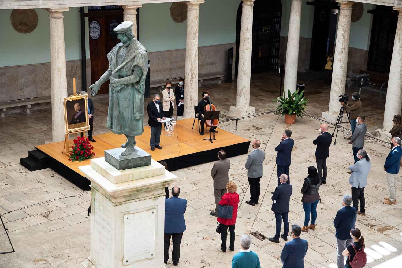 Commemoració del 80 aniversari de l'afusellament del rector Peset