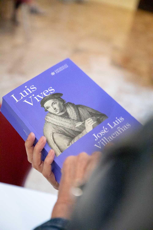 El professor José Luis Villacañas presenta a la Universitat de València un llibre dedicat a Lluís Vives