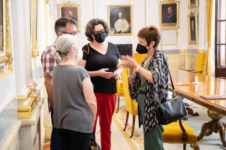 ACPV y la Universitat de València renuevan el convenio de trabajo en el ámbito de política lingüística