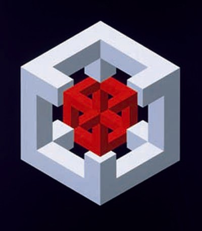 Geometr as vicerrectorado de cultura universitat de - Figuras geometricas imposibles ...