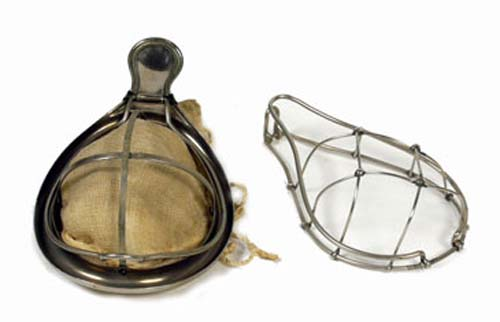 Schimmelbusch and Esmarch mask for chloroform, c. 1890-1910