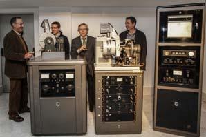 Imagen de la inauguración de la exposición.