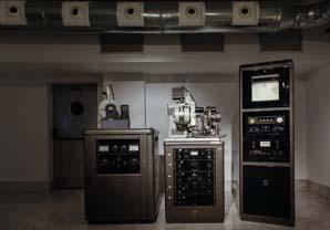 Equipo de difracción de rayos X, 1956 - 1957.