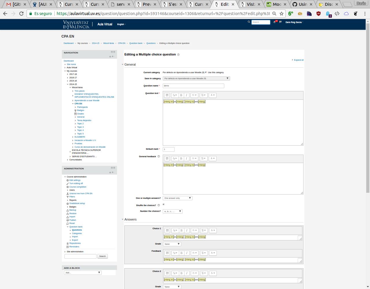 Moodle plugins directory: Multi-Language Content (v2)