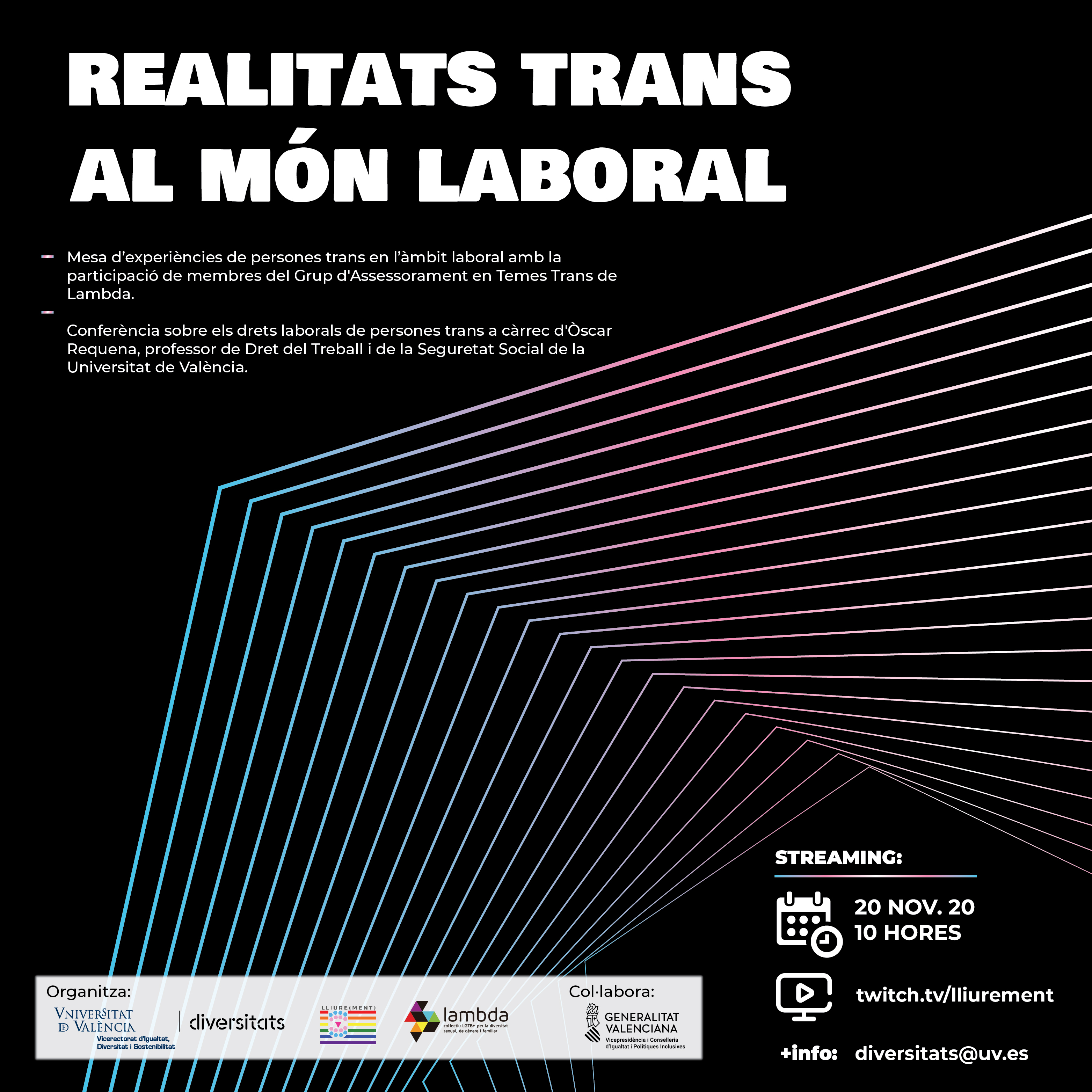 trans discussion poster