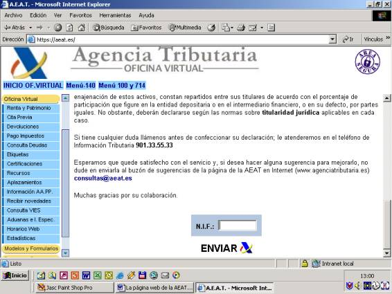 2 for Oficina virtual internet