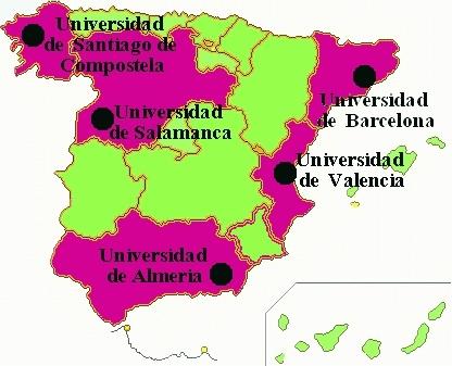 Mapa Master Oficial Interuniversitario En Psicogerontologia