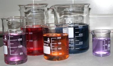 vasos de precipitados de vidrio