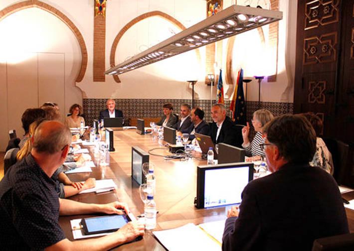Sessió constitutiva del Consell Assessor del Mecenatge.