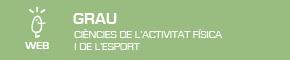 Grau ciències activitat física i esport UV