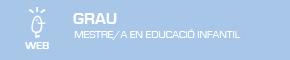 Grau en Mestre/a en Educació Infantil