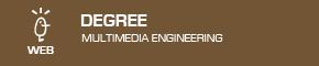 Degree in Multimedia Engineering