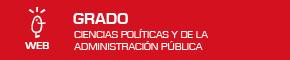 Grado en Ciencias Políticas y de la Administración Pública