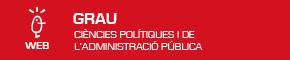Grau en Ciències Polítiques i de l'Administració Pública