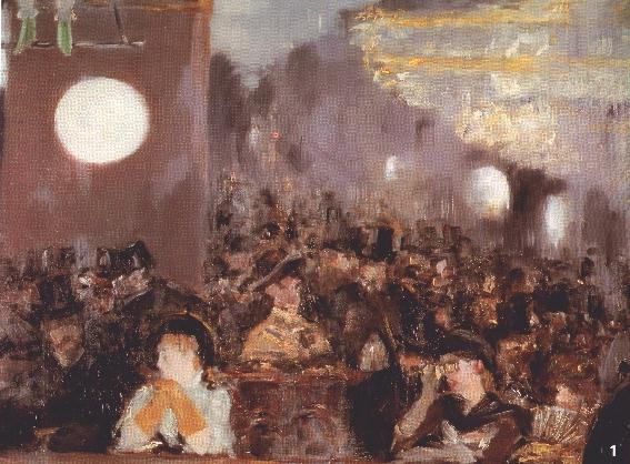 A Bar At The Folies Bergere Eduard Manet: Un bar d...