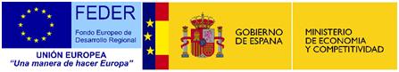 FEDER - Ministerio de Economía y Competitividad