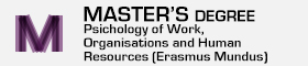 Master's Degree in Psychology of Work, Organisations and Human Resources (Erasmus Mundus)