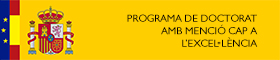 Programa de Doctorat amb menció cap a l'exce·lència
