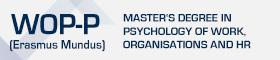 Master's Degree in Psychology Work, Organisations and HR (Erasmus Mundus)