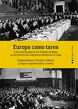 """Europa, fites i propostes. Debat amb motiu de la presentació del llibre """"Europa como tarea"""". 24/09/2018. La Nau. 19.30 h"""