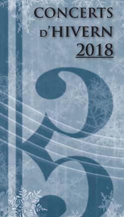 Concerts d'Hivern 2018