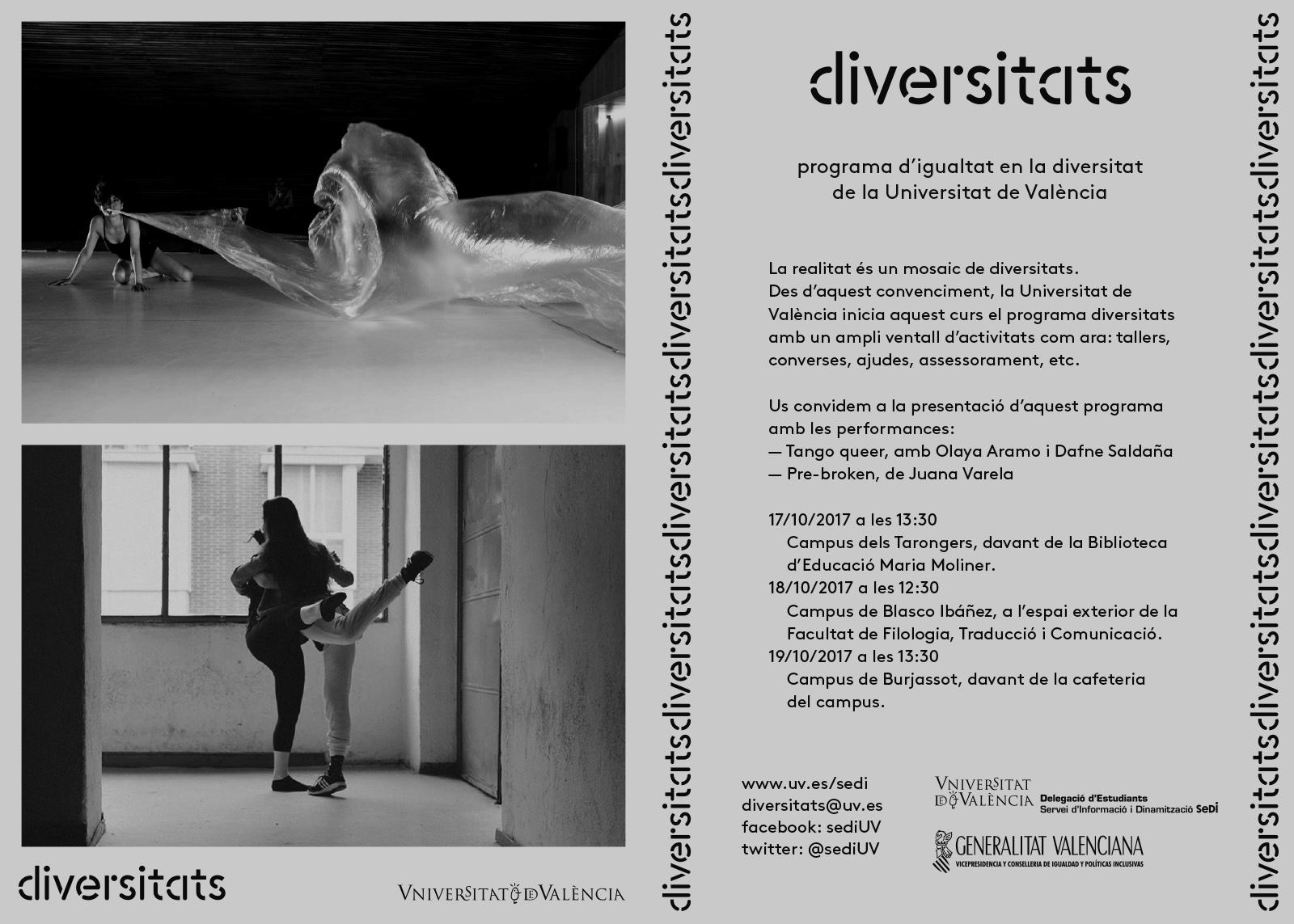 Invitació programa diversitats