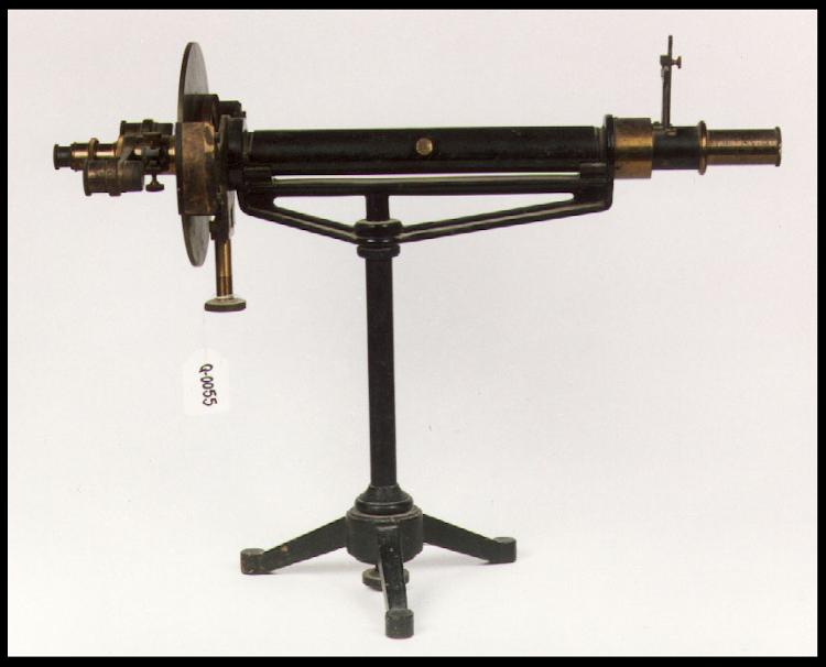 Polarímetre, Col·lecció Universitat de València - Ciències, ca. 1880 - 1900