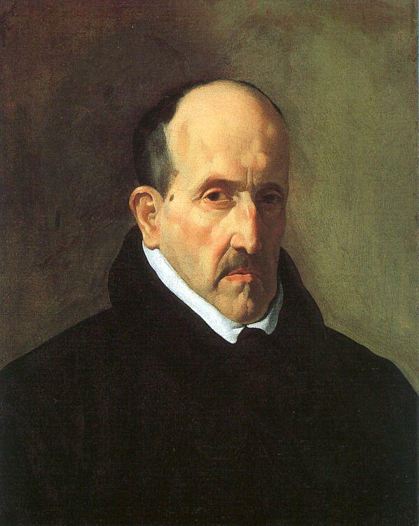 Luis de Góngora, geportretteerd door Diego Velázquez