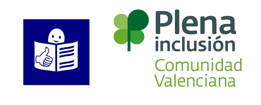 Logo Lectura Fácil Europa y Plena Inclusión